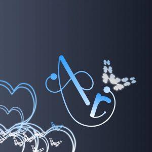 ar name wallpaper