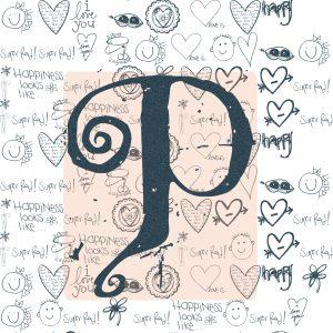 p name wallpaper